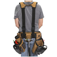 Heavy Duty Durable 4-Piece Pro Polyester Carpenters Rig Tool Belt