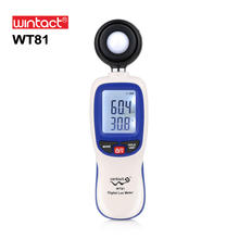 Digital Luxmeter Mini Light Meter Environmental Testing Equipment Handheld Type illuminometer WT81