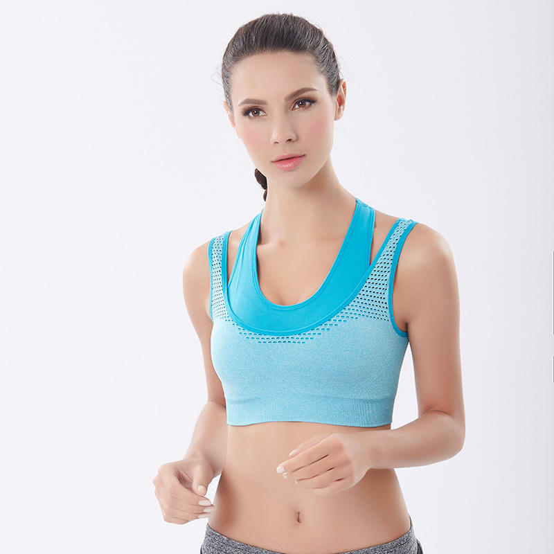 beauty Womens Wholesale Fitness powernet breathable Custom Sports photo bras