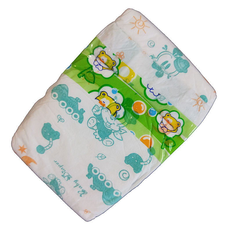 BD5201X Lowe Price Free Sample Cute Style Printing Mama First Choice L Size Pe Frontal Tape B Grade Bales Baby Diapers India