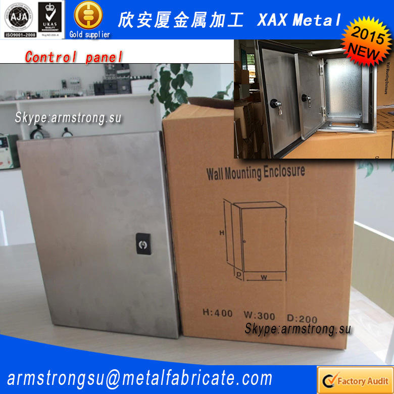 XAX018MB Newest 2015 hot products metal box fabrication my orders with alibaba