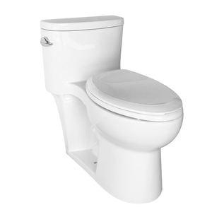 Ceramic Bathroom Toilet Sanitary Ware / American Style Standard Toilet Size / One Piece Toilet