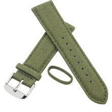 Fashion Accessories Canvas Leather Watch Band Strap