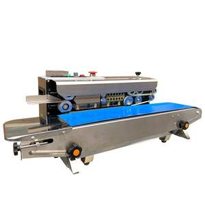 fr 900 heat foil induction impulse automatic vertical continuous band sealing machine for aluminium plastic bags sealer