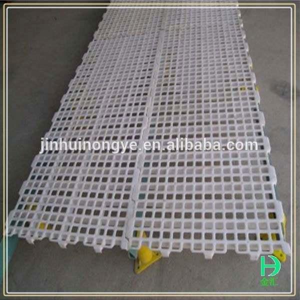 腐食が耐える高strengh家禽のための白い色プラスチック床のスラット