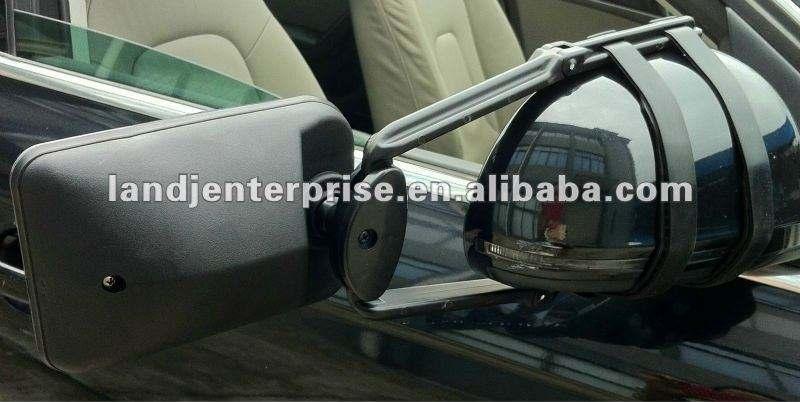 Espejo convex Caravana Coche Extensión Remolque cabe Ford