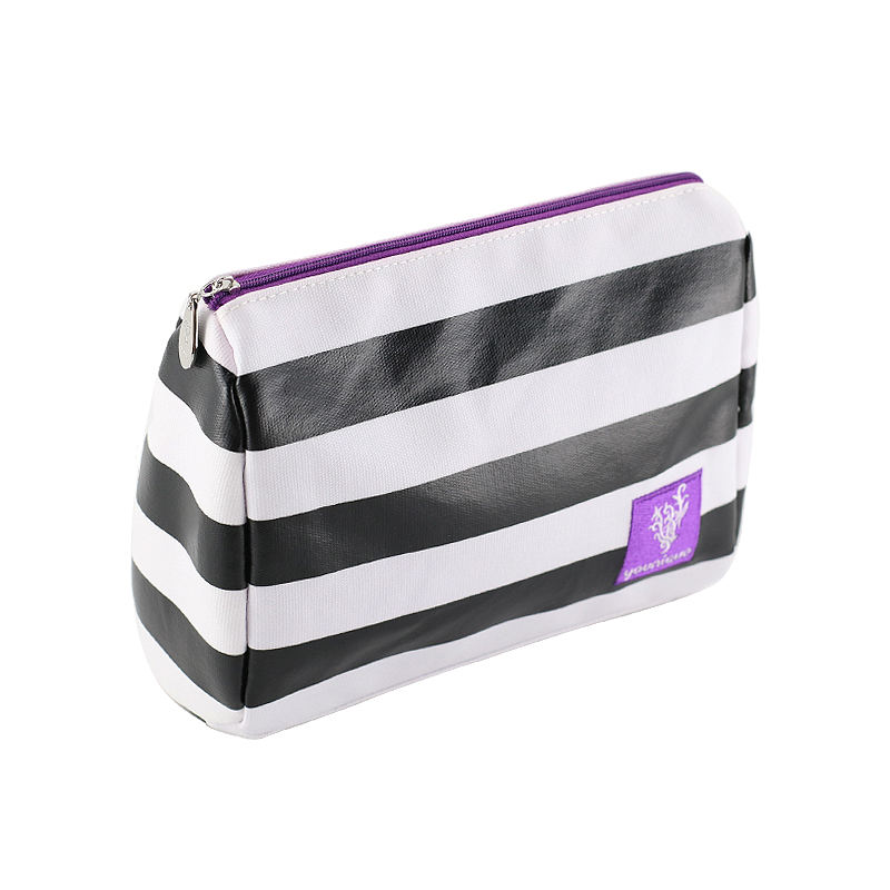 Cosmetic Bag Pvc 2019 New Arrivals Scale Feel PVC Leather Lady Girl Makeup Beauty Cosmetic Bag Zipper Bag