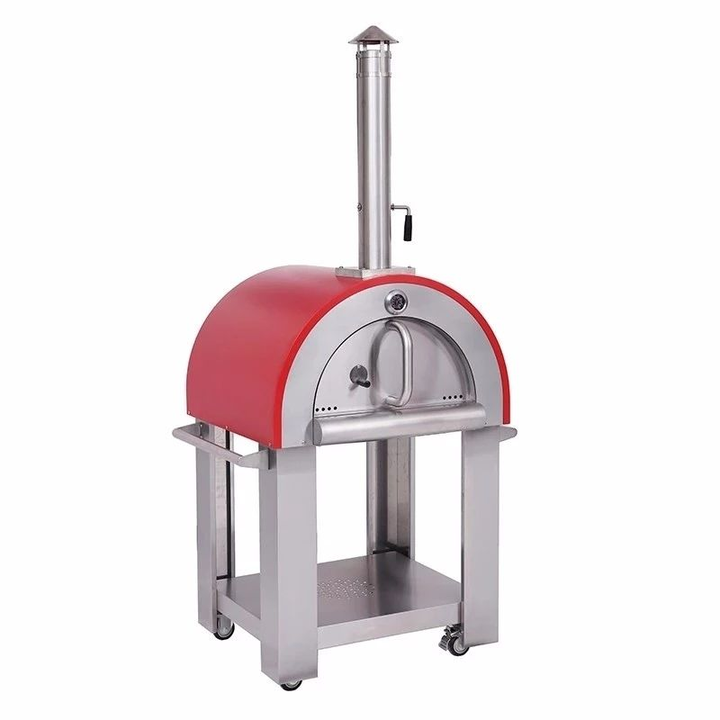 Factory best price OEM Stainless Steel Wood Fired Charcoal Pizza Oven with accessories