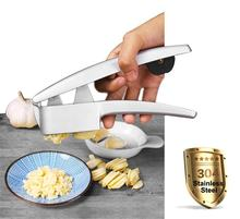2018 Most Popular Multifunctional Aluminium Alloy Garlic Press and Slicer