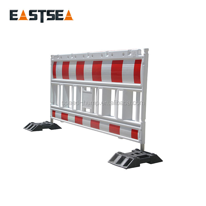 Germany Model Temporary Crowd Control Barrier, Plastic Road Barrier for Safety Work