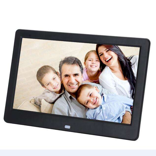 10inch LED Digital Photo Frame & Video&Music Playback