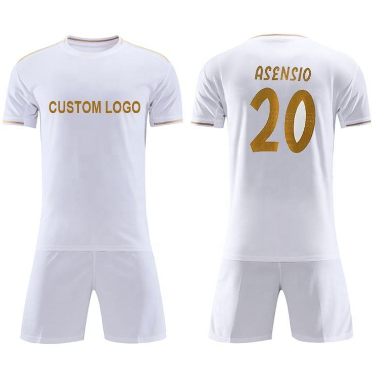 Football Shirt 2020 Best Grade Top Thai Quality Cheap Football Shirt Uniform Soccer Jersey Wear 2021