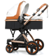 Wholesale China Supplier Baby Strollers 3 1 Stroller Luxury Foldable Stroller