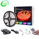 china led light strip 12v 5m rgb ip65 waterproof rgb led strip kit 5050 +5A power supply+24 key (44key) controller