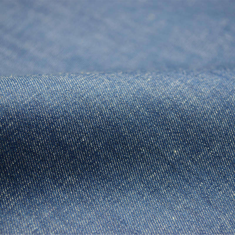 Skygen China high quality cheap free samples 135 gsm soft indigo cotton spandex stretch denim fabric with good prices
