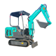 China mini hydraulic crawler backhoe digger excavator