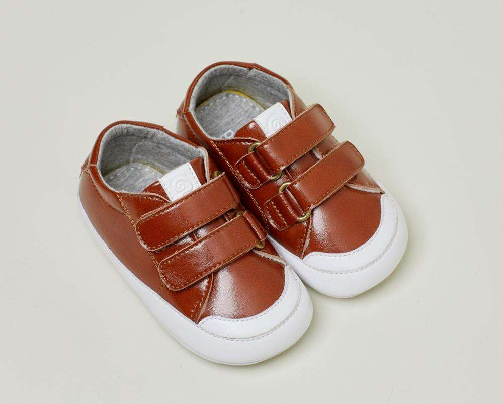 Wholesale soft sole newborn toddler baby shoes leather baby sneakers