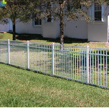 Metal tube powder coating Patio Wrought Iron Fence