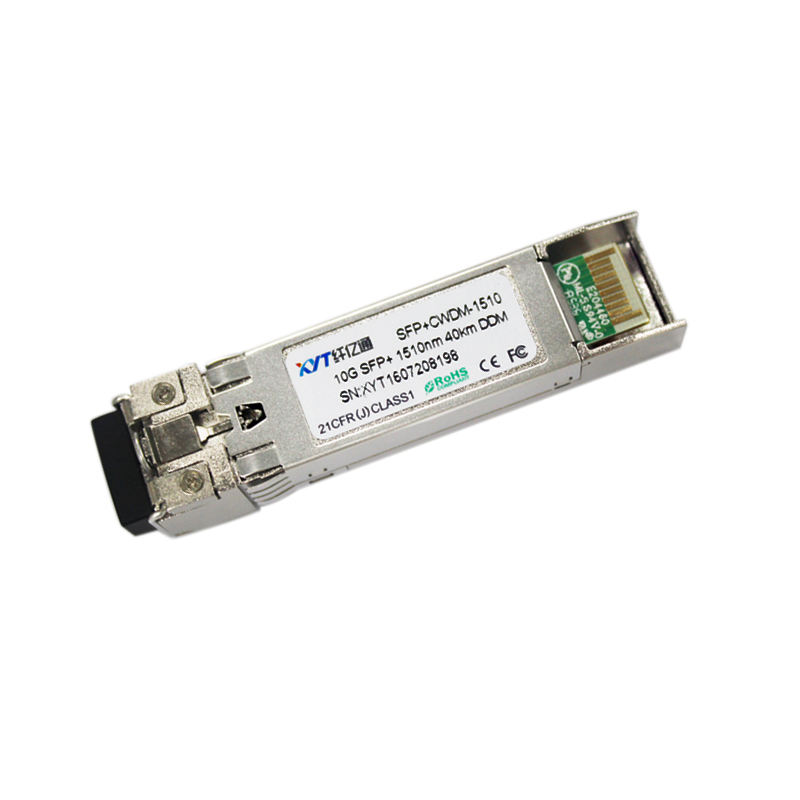 Single Model Optical Transceiver 10 Gbps CWDM SFP+ 40km SFP+ Transceiver Compatible With Mirtrotik