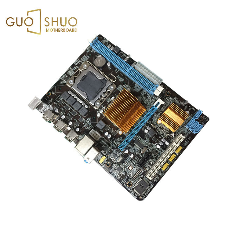 Cheapest X58/5520/5500+ICH9 chipset 1066/1333/1600MHz motherboard for Supports Xeon Quad core 1366 CPU