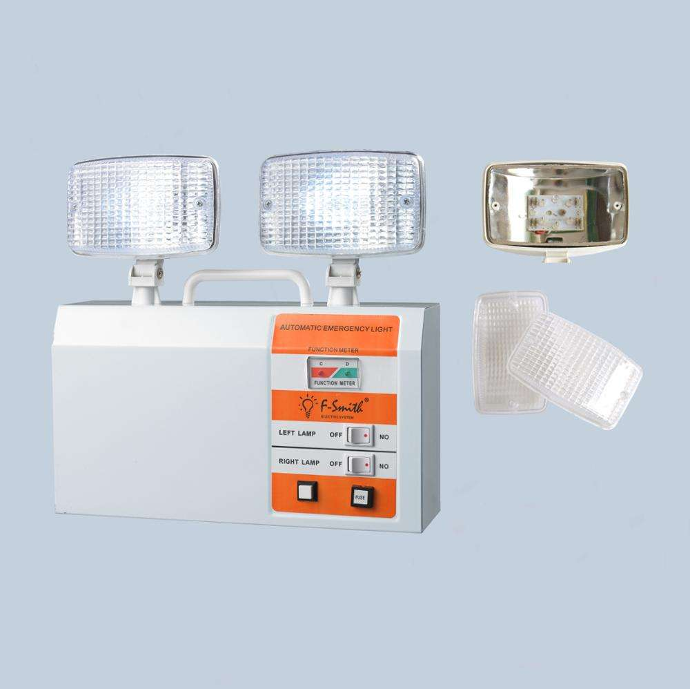 NEW type twin spot rechargeable led emergency light