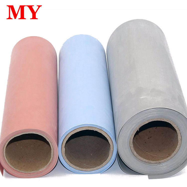 Glass fiber coated thermal conductive rubber silicone cloth