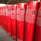 Welded firefighting cylinder fire extinguisher system