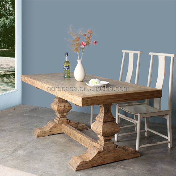 Wholesale Rustic Reclaimed Wood Furniture Dining Table