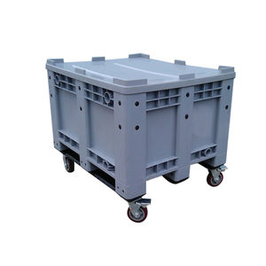 1200*1000*760mm plastic crate/logistic turnover plastic pallet box
