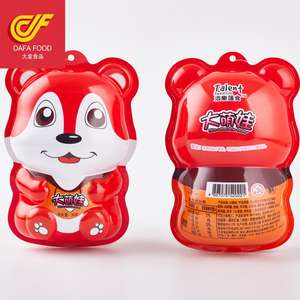 2018 bear shape packing chocolate cup with biscuits plastic toy inside big surprise egg