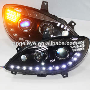 2004-2014 Year for Mercedes-Benz W639 Viano Valente V-Class LED Head Lamp