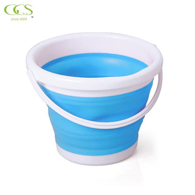 Multifunctional Collapsible Portable Travel Outdoor Wash Basin Folding Bucket for Camping Hiking Travelling Fishing Washing