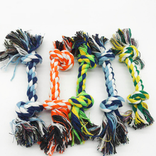 Eco Friendly Braided Knots Cotton Rope Dental Clean Pet Training Rope Dog Toy in Bulk Selling