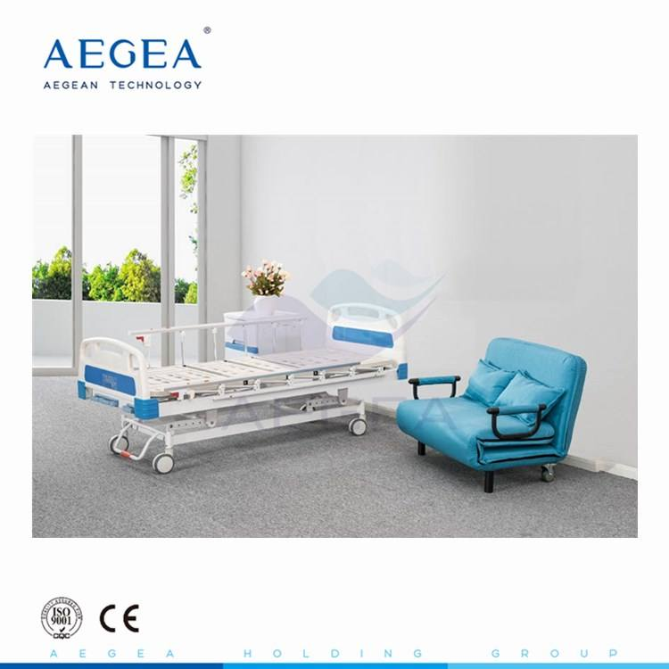 AG-BMS002B ABS bed-board patient medicare recovery manual bed wholesale suppliers