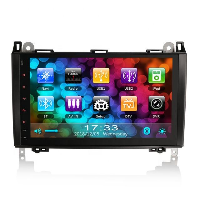 Erisin ES792B 9 Inch Giá Rẻ Gps Dvr Camera Car Radio Dvd Player Cho Benz