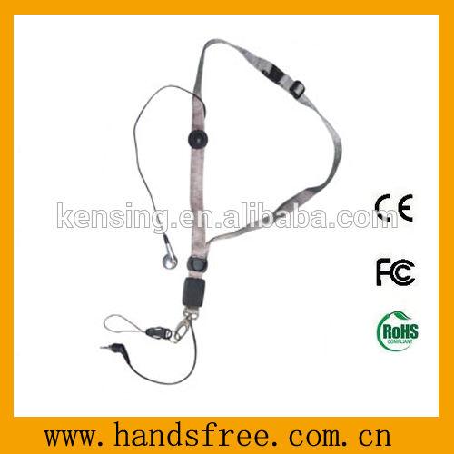 courroie mains libres de cou des kits NH-142 de collier mains libres