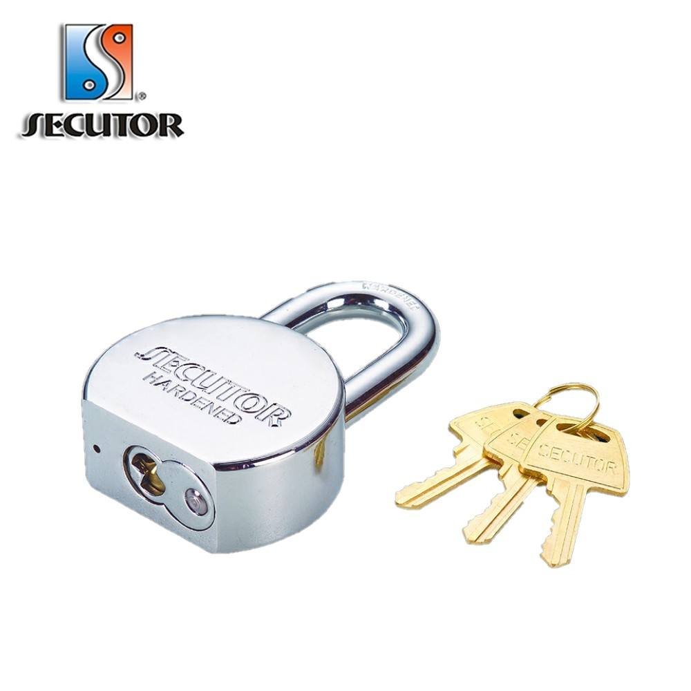 American round safety Padlock rekeyable cylinder