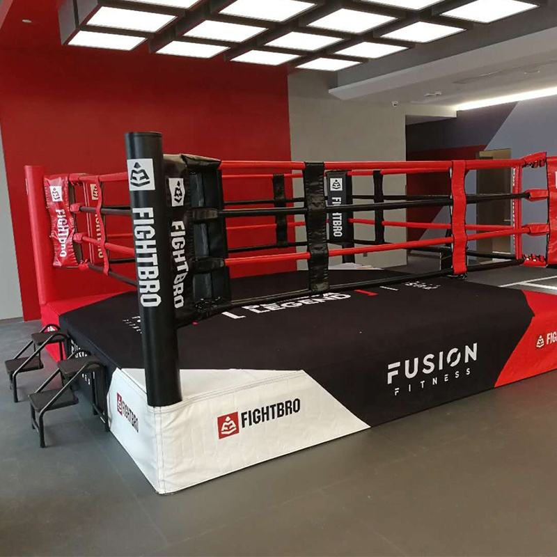 fightbro RG4 Professional elevated boxing ring used boxing ring for sale boxing ring canvas