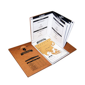 Travelogue Gift World Travel Map Interactive Travel Journal With Pages