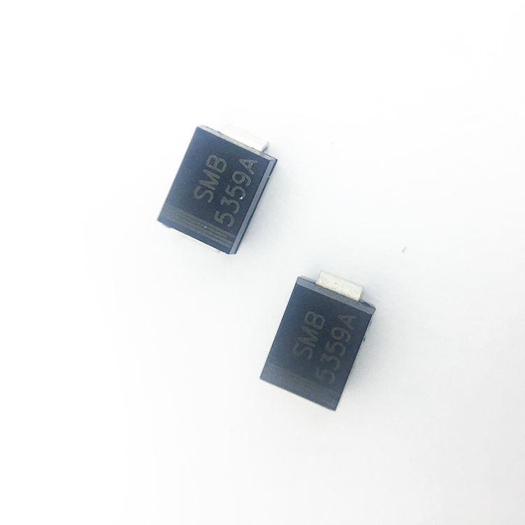 10PCS 1SMB5913BT3G DIODE ZENER 3.3V 3W SMB