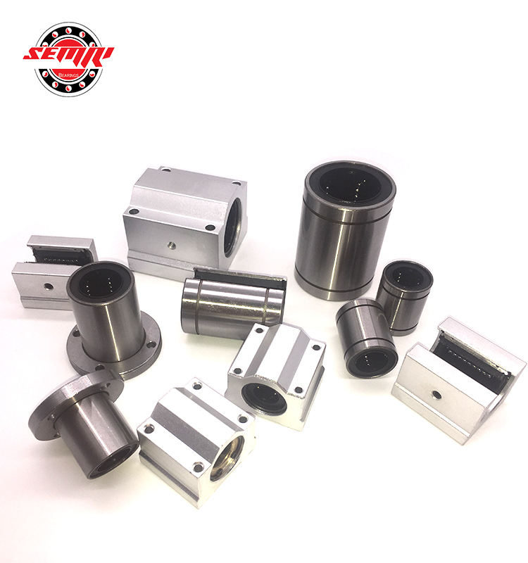 Low noise linear slide unit SCE20UU linear motion ball bearing for sale