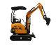 Chinese small mini excavator 1.8 ton,Rhino XN18 hydraulic excavator digger 0.045cbm bucket
