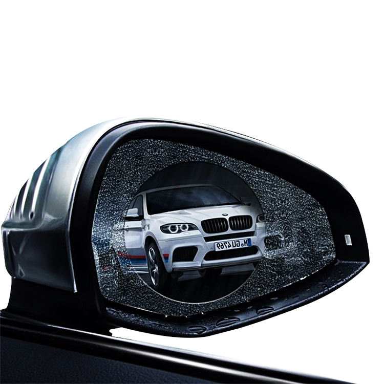 High Quality Nano Waterproof Rearview Mirror Film Anti Fog Car Sticker