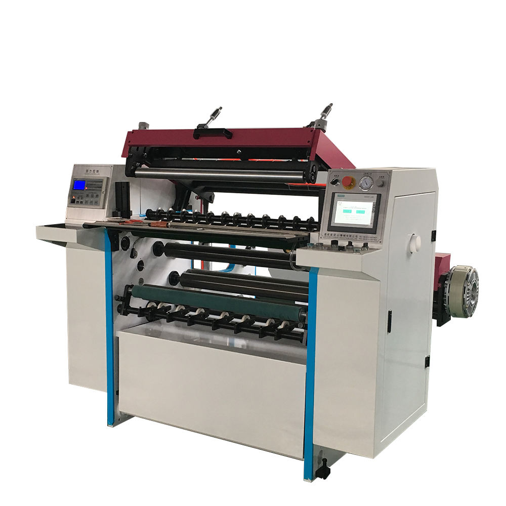 Fully Tension Control Carbonless Paper Slitting and Rewinding Machine, Polar Paper Cutter for Sale