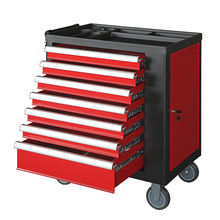 Power Coating Finish Rolling Caps Stainless Steel Mechanics Edge Tool Chest Wholesale For Tool Set