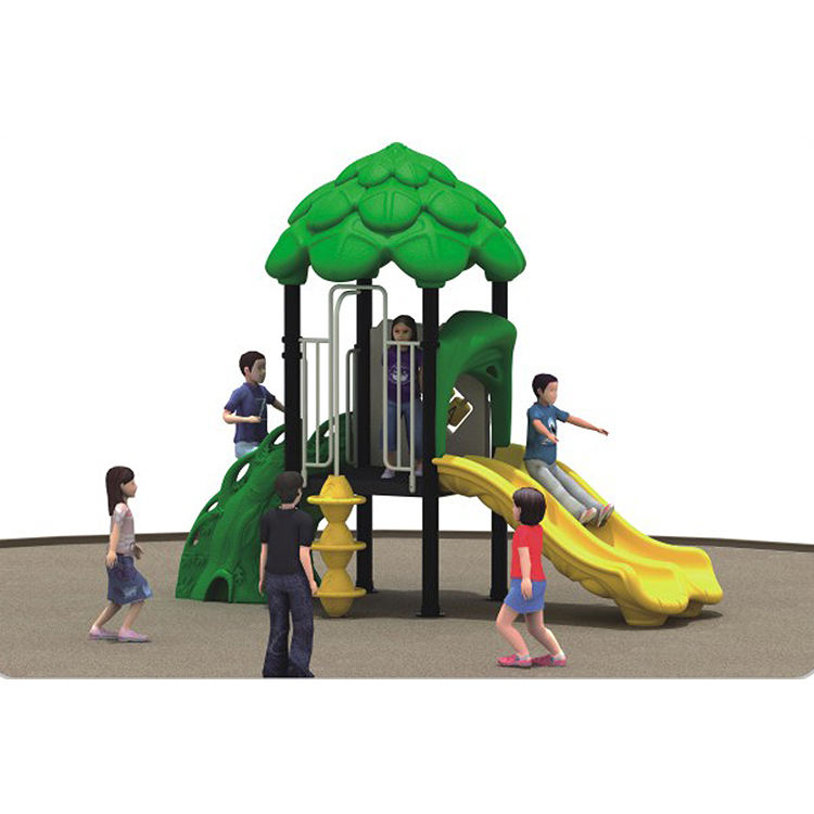 2019 Hot sale natural plastic playhouse outdoor playground equipment for kids