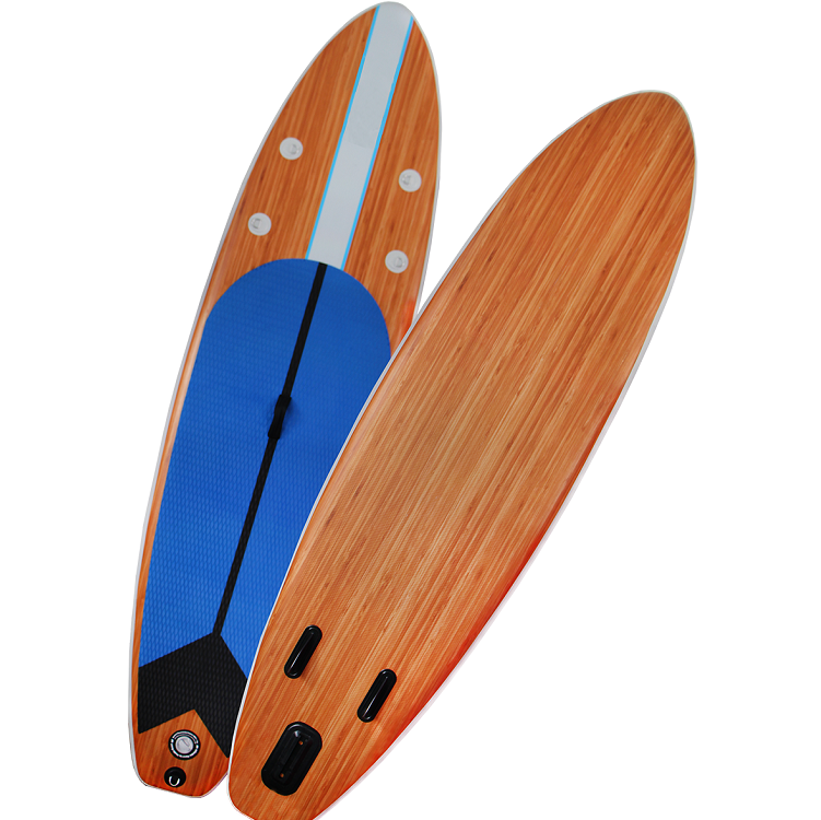 All Round Cheap Customized Wood/Bamboo SUP Paddle Inflatable Board