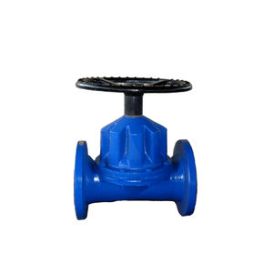 Casting Iron Double Diaphragm Saunders Diaphragm Valve Price