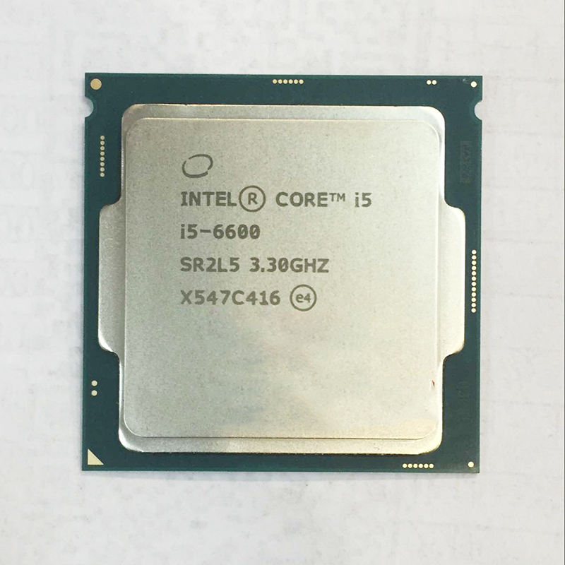 Intel new Core i5 6600 Quad core 3.3GHz 6MB Cache LGA1151 CPU Processor