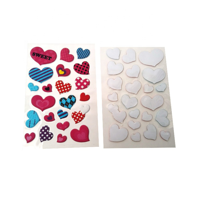 Bloem 3d craft puffy 3D kids foam stickers